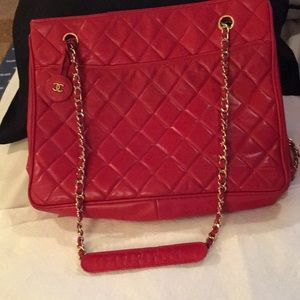 Authentic Red Chanel